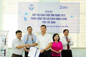 Tây Ninh: Người dân ngồi nhà đăng ký thủ tục hành chính qua Zalo