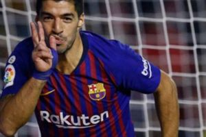 Thêm một lần 'gánh đội' giúp Barca thắng trận, Luis Suarez nói gì?