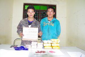 Bắt hai người Lào mua bán ma túy tại điểm nóng Na Ư, Điện Biên