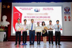 ĐH Sư phạm Kỹ thuật giành giải Nhất Olympic các môn Khoa học Mác-Lênin và tư tưởng Hồ Chí Minh 2018