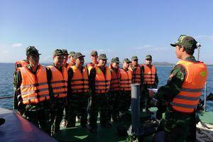 BĐBP Quảng Ngãi tăng cường công tác huấn luyện trên biển
