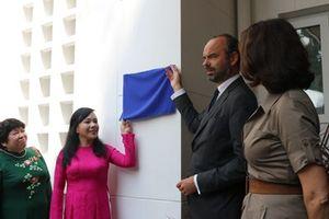 Thủ tướng Pháp dự khai trương Trung tâm Y tế Pháp tại Tp Hồ Chí Minh