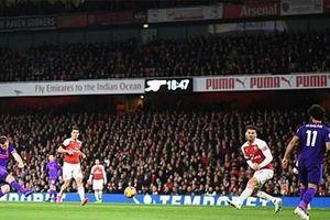 Thi đấu áp đảo nhưng Liverpool vẫn phải chấp nhận chia điểm trước Arsenal