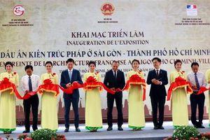 Khai mạc triển lãm 'Dấu ấn kiến trúc Pháp ở Sài Gòn – TP.HCM'