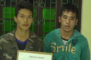 Điện Biên: Bắt 2 đối tượng người Lào vận chuyển 10 bánh heroin qua biên giới