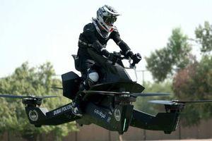 Môtô bay Scorpion-3 sắp ra thị trường, tội phạm tốc độ cao hú vía