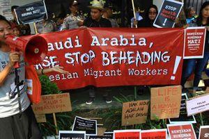 Arab Saudi tử hình công dân Indonesia gây phẫn nộ Jakarta