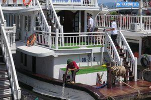 Có được 'tự chế', lắp hệ thống xử lý nước thải trên tàu?