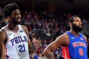 Tiếp tục 'xỏ mũi' Andre Drummond, Joel Embiid 'không thể cản phá' giúp Philadelphia 76ers hạ gục Detroit Pistons dễ dàng