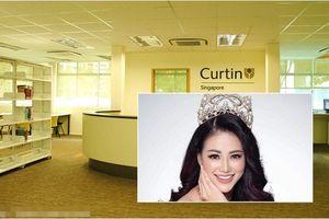 Curtin Singapore - Ngôi trường Tân Miss Earth 2018 Phương Khánh đang theo học nổi tiếng cỡ nào?