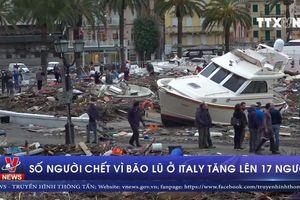 17 người thiệt mạng vì bão lũ tại Italy