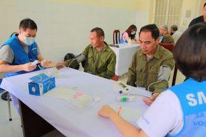 Thái Nguyên: Hơn 1.000 người được khám, cấp thuốc miễn phí