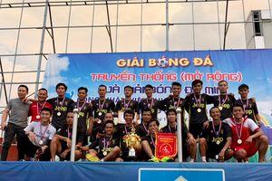 Giải bóng đá truyền thống mở rộng huyện Thống Nhất