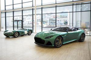Chiêm ngưỡng Aston Martin DBS 59, siêu phẩm kỉ niệm chiến thắng tại giải đua Le Mans