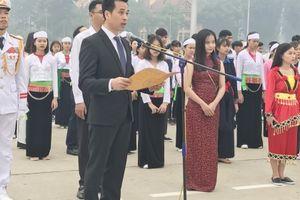 Hà Nội: 125 học sinh, sinh viên dân tộc thiểu số báo công dâng Bác