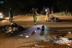 Bình Dương: Hai xe máy tông nhau, hai người thương vong