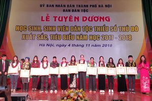 Tuyên dương 125 học sinh, sinh viên dân tộc thiểu số Thủ đô xuất sắc tiêu biểu