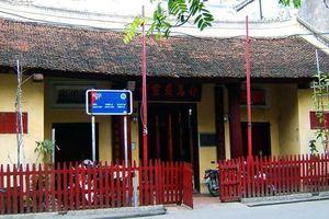 Bộ VHTTDL thỏa thuận dự án tu bổ, tôn tạo di tích đền Bạch Mã