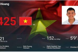 Lý Hoàng Nam lập kỷ lục mới cho quần vợt Việt Nam