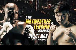 Mayweather thượng đài, đối đầu nhà vô địch kickboxing Nhật Bản