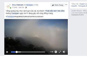 Những du khách may mắn chiêm ngưỡng hiện tượng ánh sáng kỳ ảo trên đỉnh Fansipan