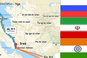Nga-Iran-Ấn Độ bỏ kênh đào Suez, mở đường thẳng tiến châu Âu
