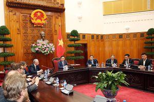 Phó Thủ tướng Vương Đình Huệ tiếp đoàn doanh nghiệp Thụy Sĩ
