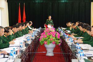 Đoàn công tác TCCT thăm và kiểm tra tại Thanh Hóa