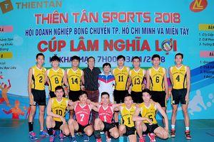 Cúp bóng chuyền Lâm Nghĩa Lợi 2018: Kịch tính đến phút cuối