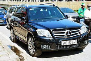 Xe sang Mercedes-Benz GLK300 chỉ hơn 600 triệu tại Hà Nội