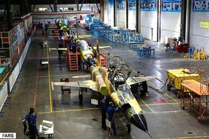 Thán phục dây chuyền sản xuất máy bay chiến đấu của Iran