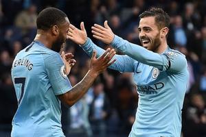 Thắng hủy diệt Southampton, Man City trở lại ngôi đầu bảng Premier League