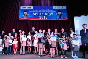 Chung kết Cuộc thi thuyết trình tiếng Anh Speak Now 2018