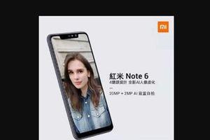 Xiaomi Redmi Note 6 có thể sẽ ra mắt vào ngày mai 6/11
