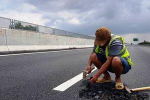 Nút giao Dung Quất cao tốc Đà Nẵng - Quảng Ngãi sụt lún, VEC nói gì?