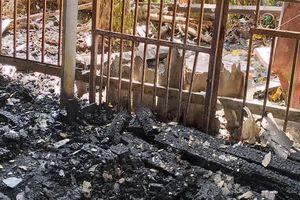 Thợ hàn thi công bất cẩn, làm cháy nhà kho