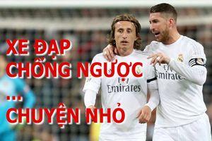 Ramos và Modric thay nhau ghi bàn kiểu xe đạp chổng ngược