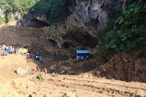 Khu vực khai thác vàng khiến hai người mất tích từng bị đình chỉ và xử phạt