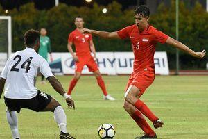 Singapore triệu tập 'thần đồng' sinh năm 2000 dự AFF Cup
