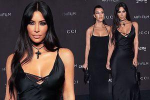 Kim Kardashian đọ sắc mỹ nhân '50 sắc thái', bạn gái tài tử Titanic