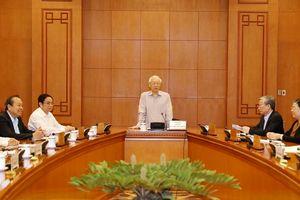 Tổng Bí thư, Chủ tịch nước Nguyễn Phú Trọng làm Trưởng ban BCĐ quy hoạch cán bộ cấp chiến lược