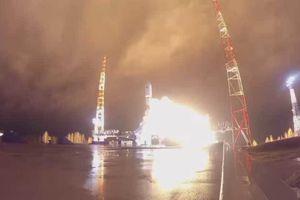 Video hiếm về tên lửa Soyuz đưa vệ tinh vào quỹ đạo