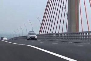Bộ GTVT 'lệnh' kiểm tra cầu 7.000 tỷ vừa thông xe đã lún, võng
