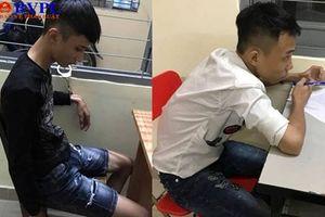 Truy đuổi, khống chế 2 tên cướp tuổi teen trên phố