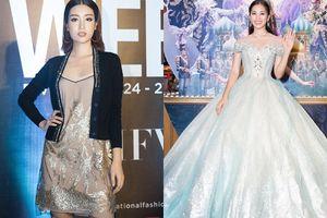 Đỗ Mỹ Linh mất điểm vì diện trang phục lạc quẻ, Tân Hoa Hậu Trần Tiểu Vy tỏa sáng khi hóa thân thành công chúa Disney