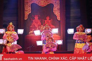 Liên hoan Ca trù toàn quốc tại Hà Tĩnh: Hội ngộ các hình thức diễn xướng độc đáo