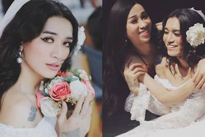Khoe ảnh mặc váy cưới làm cô dâu xinh đẹp, BB Trần thông báo chuẩn bị lên xe hoa?