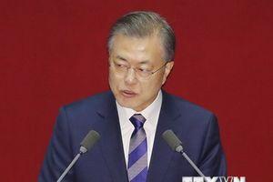 Tổng thống Moon tuyên bố liên minh Mỹ-Hàn cần được duy trì mãi mãi