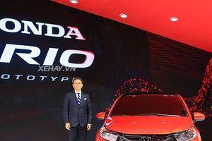 Hé lộ thời điểm xe giá rẻ Honda Brio cập bến Việt Nam