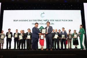 TTC Sugar đạt 'Top 10 doanh nghiệp có Báo cáo thường niên tốt nhất 2018'